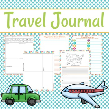 My Travel Journal for Kids
