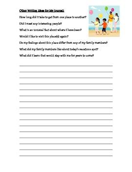 My Travel Memory Journal