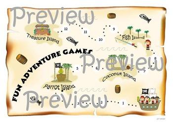 My Treasure Island ( game board printable)