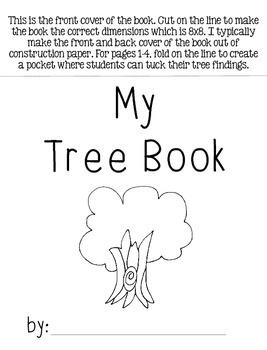 My Tree Book {Freebie}