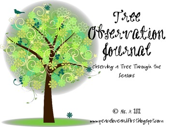 My Tree Observation Jounal - Noting Changes in Trees Through the Seasons