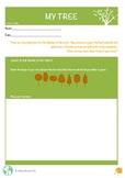 My Tree - activity sheet