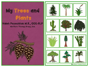 My Trees and Plants Interactive Vocabulary Book
