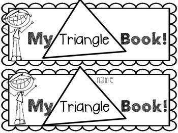 My Triangle Book-EASY PREP!