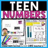 Teen Numbers for Kindergarten
