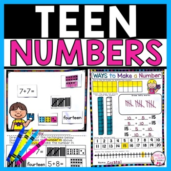 Teen Numbers Journal
