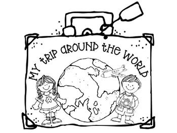 My Trip Around the World Writing Activity