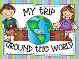 My Trip Around the World Writing Activity