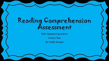 My Trip to the Aquarium Reading Comprehension Test
