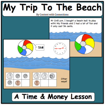 My Trip to the Beach: End of the Year & Summer Math Review