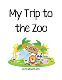 My Trip to the Zoo-Interactive/Adapted Book