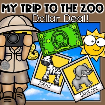 My Trip to the Zoo DOLLAR DEAL!!