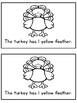 My Turkey- A Differentiated Interactive Emergent Reader