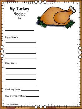 My Turkey Recipe