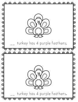 My Turkey~ emergent reader
