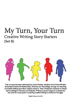 My Turn Your Turn Creative Writing Story Starters (Set B)