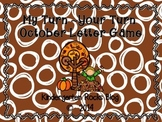 My Turn ~ Your Turn October Letter Game