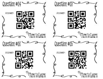 My Turn to Learn QR Cards: Ecosystem Vocabulary Life Science