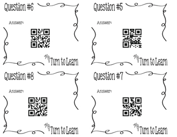 My Turn to Learn QR Cards: Equivalent Ratios