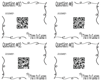 My Turn to Learn QR Cards: Solve Percent Equations