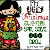 My Ugly Christmas Sweater: Spin, Solve & Draw