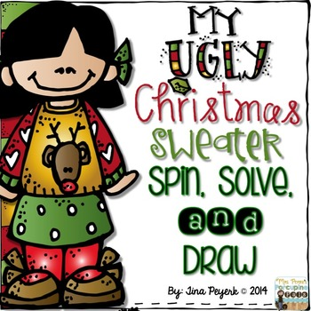 My Ugly Christmas Sweater: Spin, Solve, and Draw