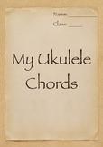 My Ukulele Chords Book