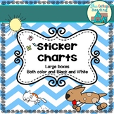 My Ultimate Collection of Sticker Charts!