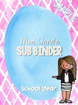My Ultimate Sub Binder: Watercolor Edition