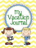 My Vacation Writing Journal