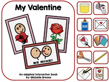 My Valentine- A Valentine's Day Adapted Book {Autism, Early Childhood}
