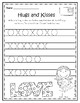 My Valentine Book - No Prep - Preschool Worksheets