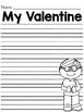 My Valentine Is Class Book
