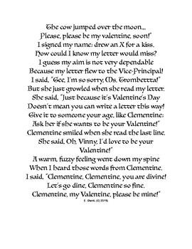 My Valentine Letter!