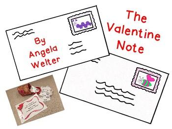 My Valentine Note