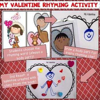 My Valentine:  Rhyming Book & Cards