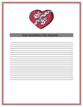 My Valentine's Day Book