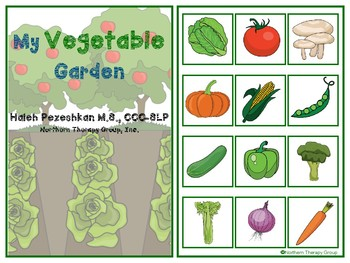 My Vegetable Garden Interactive Vocabulary Book