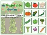 My Vegetable Garden Interactive Vocabulary Book
