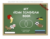 My Venn Diagram Book - Mini Unit for Expanding Expressive