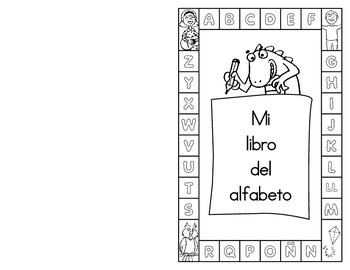 My Very Own Alphabet Book-Spanish (Pre-K to K)-Manuscript Handwriting