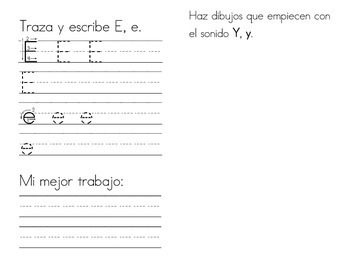 My Very Own Alphabet Book-Spanish (Pre-K to K)-Manuscript Handwriting