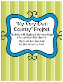 """""""My Very Own Country"""" Landform Activity-(Core Knowledge)"""