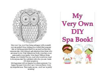 My Very Own DIY Spa Book