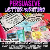 Persuasive Letter Writing: My Dream Bedroom