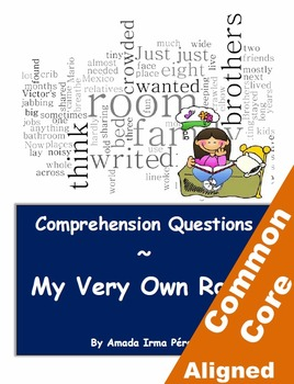 My Very Own Room Reading Comprehension Worksheets for Grades 3-5