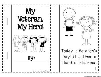 My Veteran, My Hero! {Literacy and Writing Activities}
