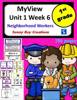 My View Literacy Unit 1 Week 6 First Grade
