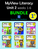 My View Literacy Unit 2 BUNDLE weeks 1 - 6 First Grade