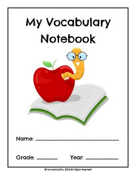My Vocabulary Notebook